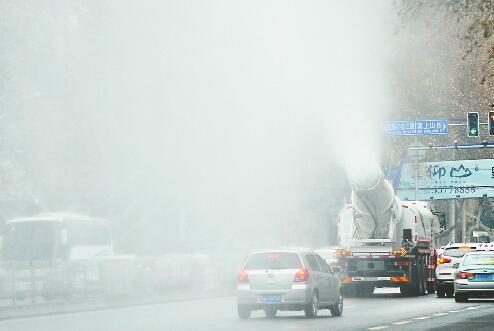 雾炮车的热与冷:深陷治霾争议 两年间销售大起