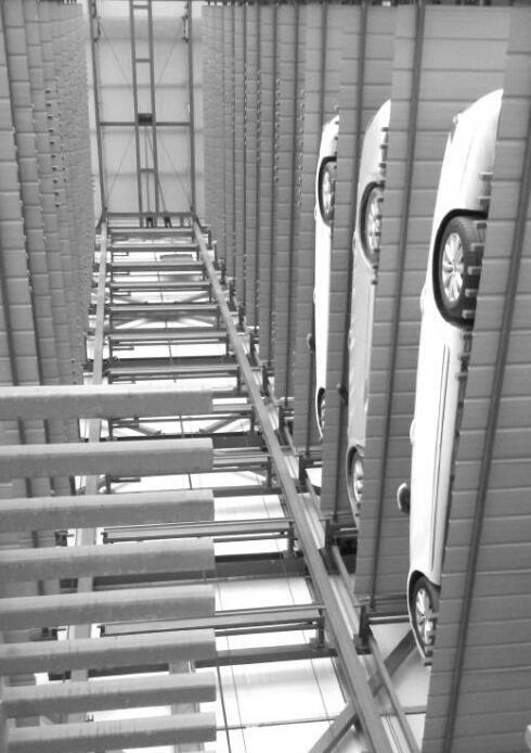 探访济南首个户外升降式立体停车场 只有周末能停满图片