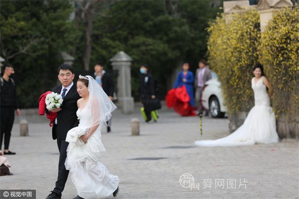 青岛:春暖花开婚纱热拍