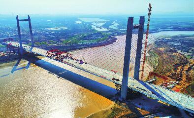 济齐黄河大桥成功合龙 济南携河发展时代将要到来