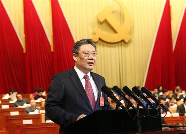 中国共产党济南市第十一次代表大会开幕