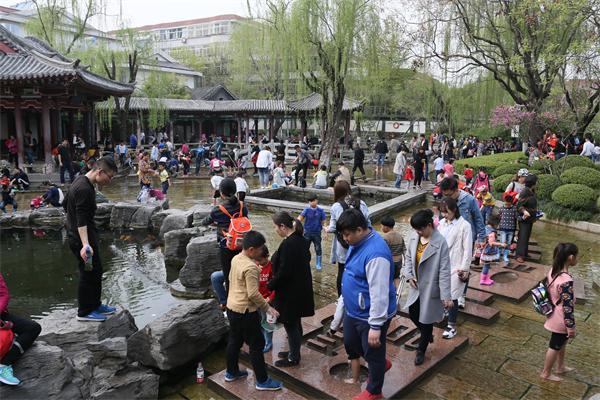 清明假期济南各公园景区共吸引110余万省内外游客