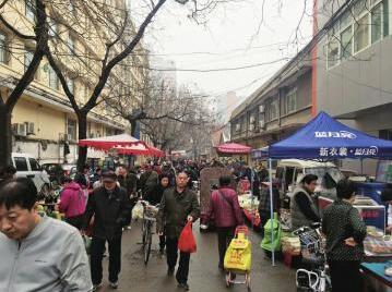 一条路分属俩街道办 济南民权大街占道经营如何破局?