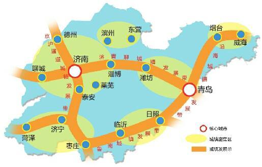 山东构建双核四带六区布局 2030年济南城市人
