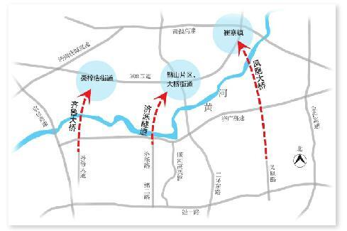 济南东西城各添一座黄河大桥 济泺路穿黄确定隧道方案