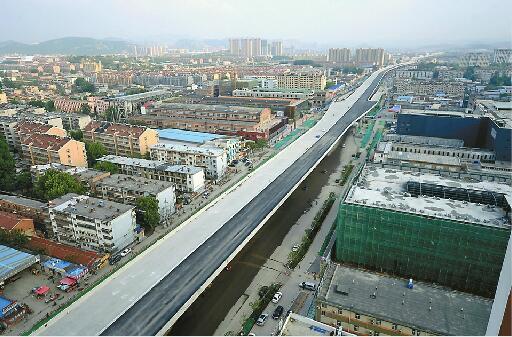 济南二环西路高架开铺沥青 部分路段已恢复双向通车