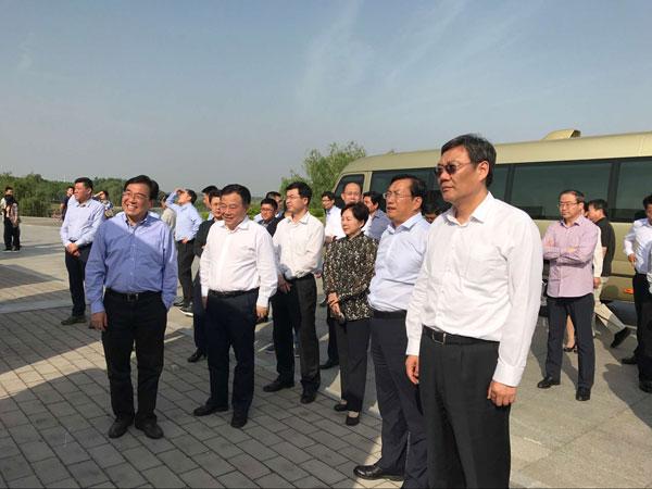 济南市党政考察团赴合肥考察