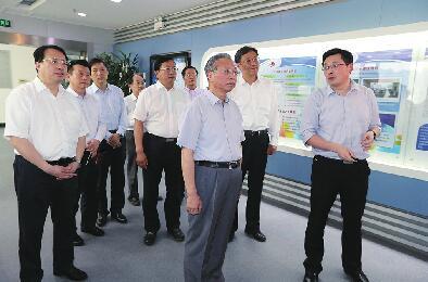 """刘家义龚正在济南调研 建设""""大强美富通""""现代化省会城市"""