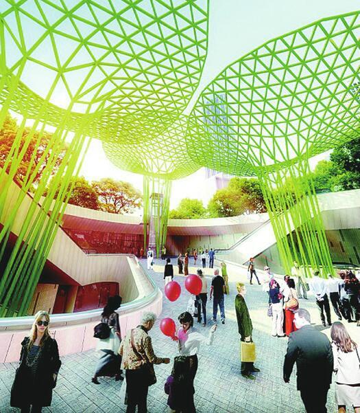 CBD南区地下广场项目6月底开工 集休闲、娱乐、出行一体