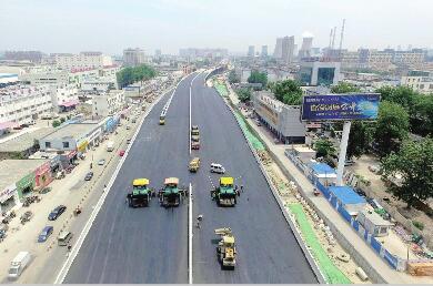 好消息!济南工业北路快速路首段道路月底提前放行