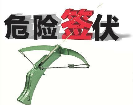 牙签弩射穿8层报纸杀伤力不小 济南部分小学附近有售