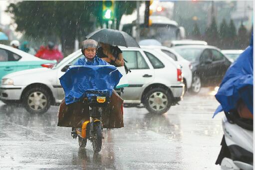 """您的""""4天雷阵雨礼包""""明天到货!明起4天雷阵雨连播"""