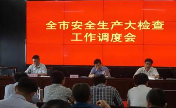 市安办组织召开全市安全生产大检查工作调度会