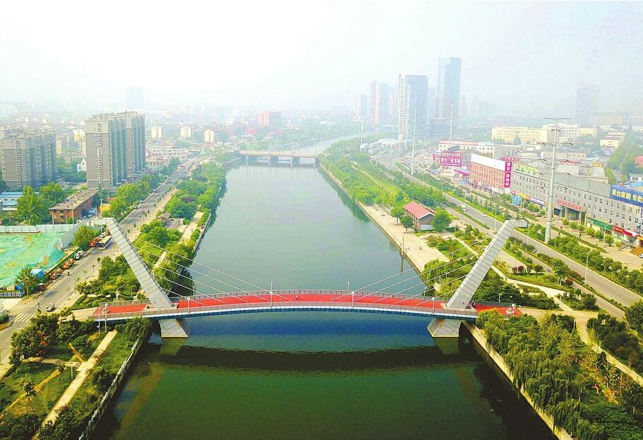 济南小清河27座桥梁整修一新成风景