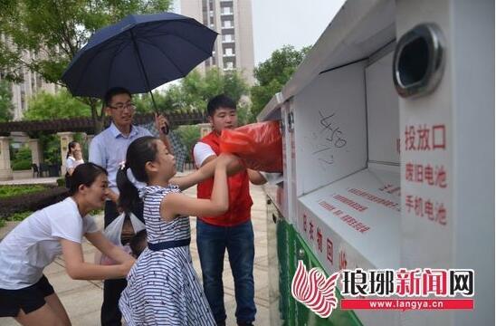 """临沂废旧衣物回收利用已一年 8成""""吃不饱"""""""