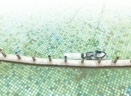 9岁男孩捞鱼身亡疑喷泉池漏电 事发长清区汇富苑小区