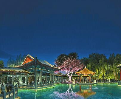"""""""一湖一环""""有望明年元旦亮灯 景观照明工程造价约2.42亿"""