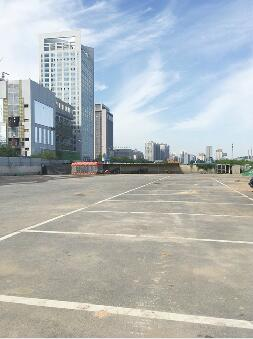 好消息!济南CBD核心区有了停车场 提供超200个停车位