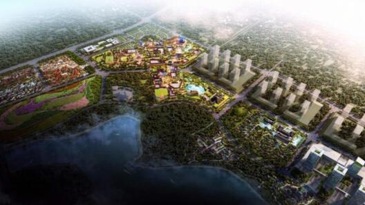 电影小镇10月开工 快看属于济南人的电影城啥样子