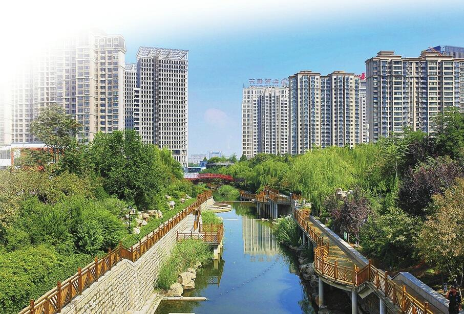 创城新变化:道路两侧绿了,门前河道清了 市民越来越爱济南