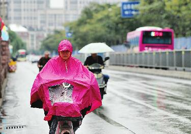 一场秋雨一场寒 济南的气温降幅明显