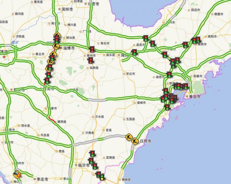 山东多地发布大雾黄色预警 注意这些高速收费站临时关闭