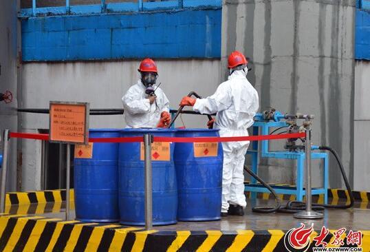 山东集中销毁200多吨毒品 举报制毒线索最高奖3万