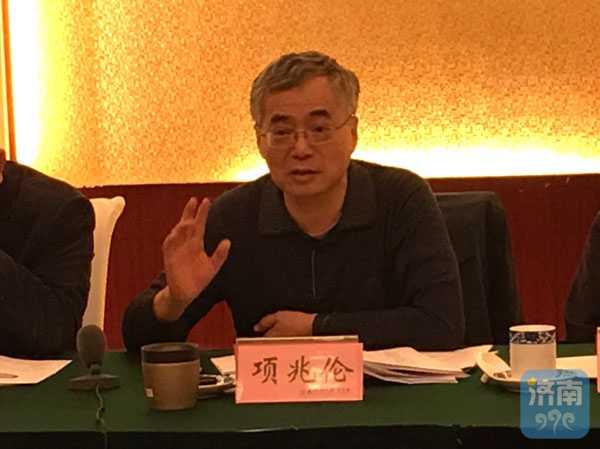 文化部来济调研第五届中国非遗博览会筹备工作