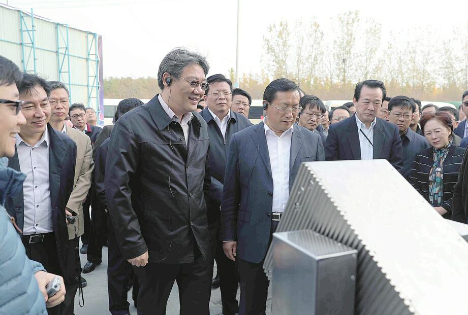 2017年全市重点项目建设督查评议活动到平阴长清高新章丘考察