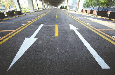 济南:顺河高架停车场仍在改造升级
