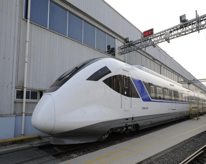 北京订制!首组CRH6A城际动车青岛下线