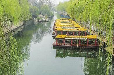 济南护城河游船停航检修 泉水浴场也将暂停开放