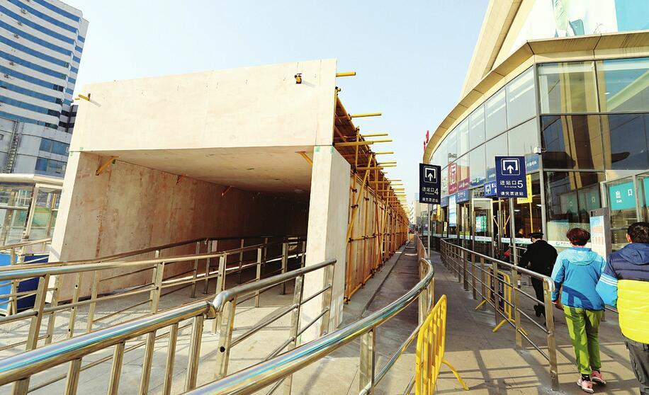 济南火车站将启用进站隔离通道