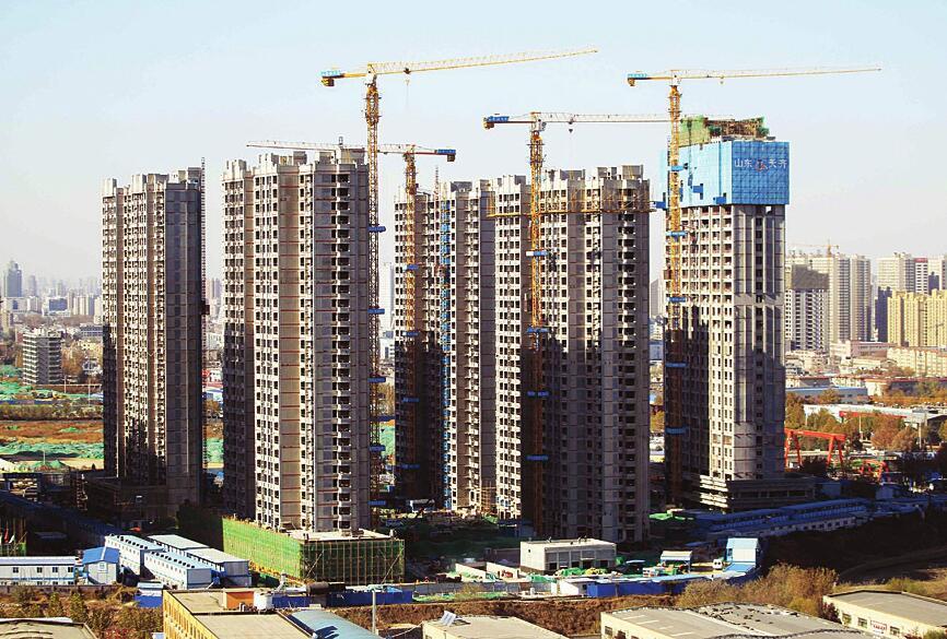 济南丁家村安置房项目主体建筑基本完工 明年下半年交付