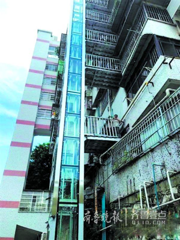 济南老楼装电梯可借鉴外地:福州仅上半年就装了1千多