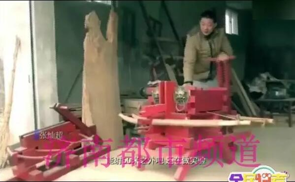 """高手在民间!88必发官网农民大哥钻研3年 复原三国""""诸葛连弩"""""""