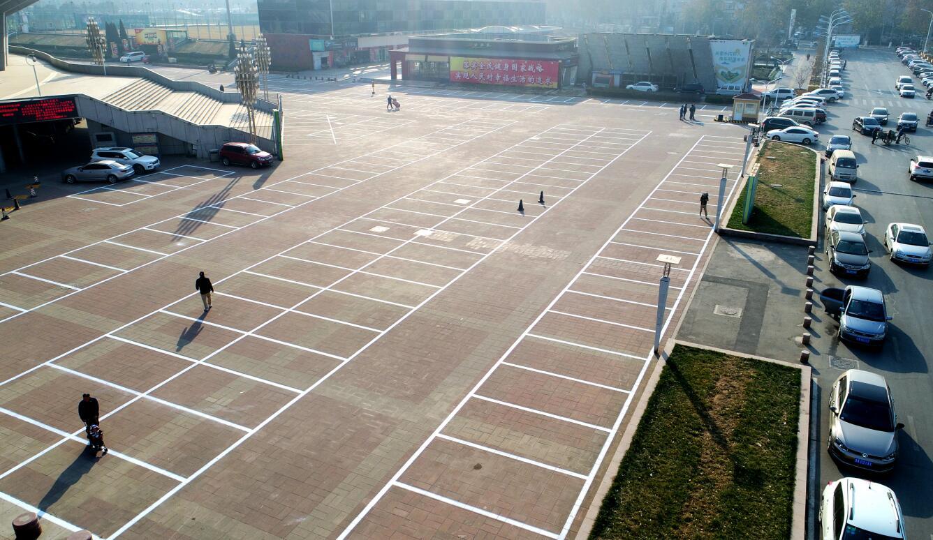 88必发老虎机客户端省体育中心外场停车场升级 可同时停车650辆