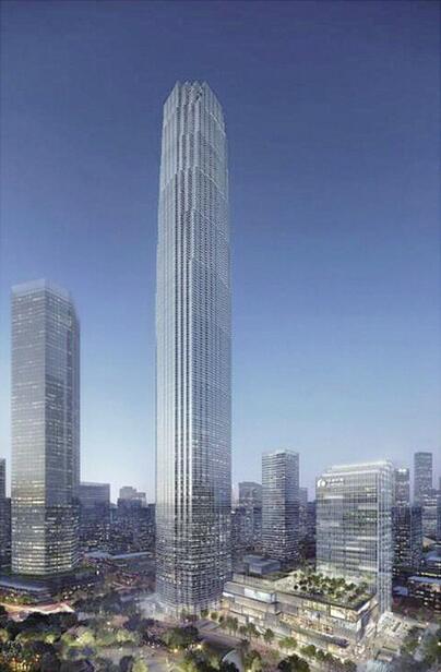"""济南CBD部分超高层规划设计方案出炉 """"山""""""""河""""""""泉""""长这样"""