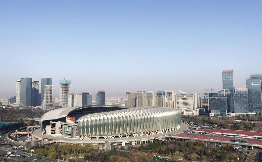 济南中央商务区加速崛起 五大塔楼逐步揭开神秘面纱