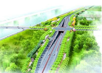 青岛西海岸首条快速路开建 设计时速60公里/小时