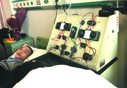 淄博24岁小伙成功捐献造血干细胞 为捐髓5个月减肥60斤