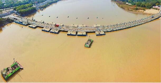 济南19座黄河浮桥明年统一收费标准 7座及以下小车仍收8元