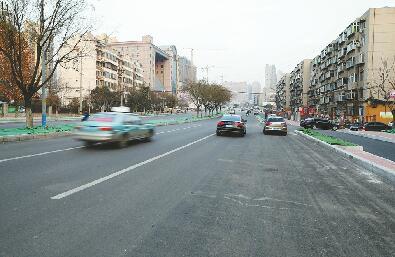 刘长山路部分路段今夜通车 跨铁路等施工难点加速推进