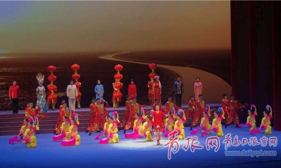 青岛非遗登上央视 胶州秧歌首秀国家戏曲晚会