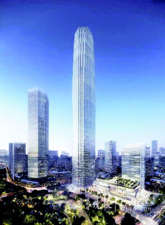 CBD五座超高层已动工了仨 将体现济南山泉湖河城特色