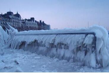 残酷!美国严寒8人冻死 美国东北部本周末将出现再一次大幅降温