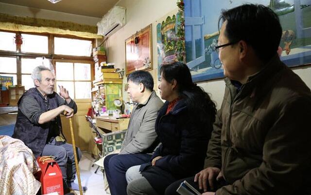 济南一中党委与福鑫苑社区党总支开展共建共享活动