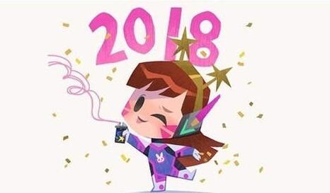 暴雪《守望先锋》发2018新年贺图 卡通英雄萌度爆表