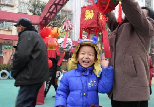 """龙奥新居幼儿园民俗游庆""""新年"""""""