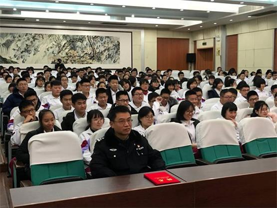 济南二中举行法制宣传系列活动